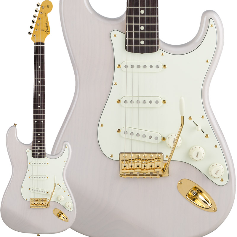 Fender Traditional 60s Stratocaster with Gold Hardware (US Blonde) [Made in Japan] 【ikbp5】