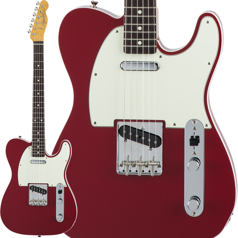 Fender Traditional 60s Telecaster Custom (Torino Red) [Made in Japan] 【ikbp5】