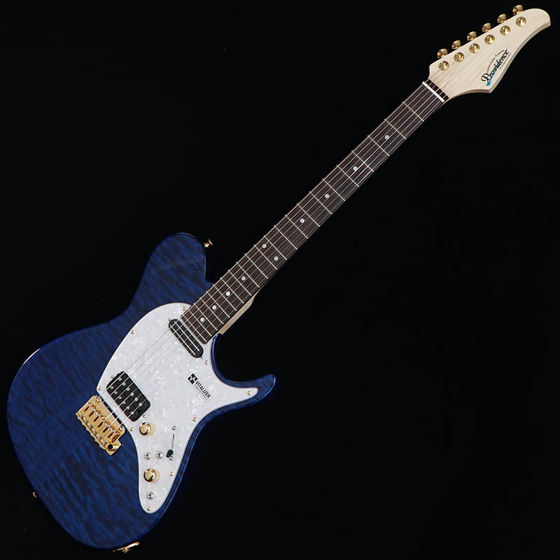 Providence Guitar eH-202TRSC (See Thru Dark Blue/Gold Hardware) [IKEBE ORDER COLOR MODEL] 【限定タイムセール】
