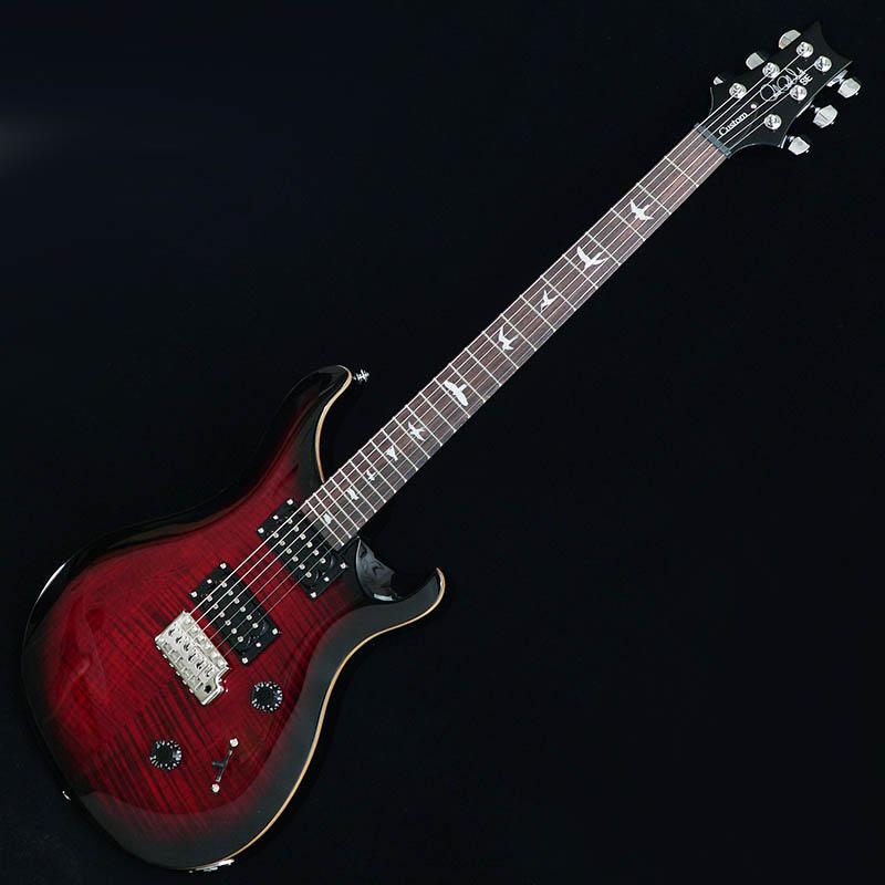 P.R.S. SE CUSTOM 24 Bird Inlay [Beveled Maple Top] (Fire Red Burst)【数量限定オリジナル木製USBメモリープレゼント】