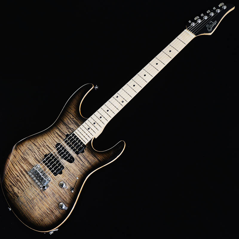 Suhr Guitars Pro Series Modern Pro 510 HSH Charcoal Burst/Maple [#JS9T4M]