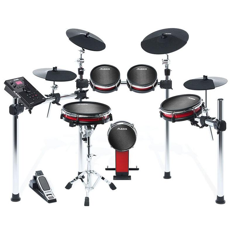 ALESIS CRIMSON II KIT [Nine-Piece Electronic Drum Kit with Mesh Heads] 【ikbp5】