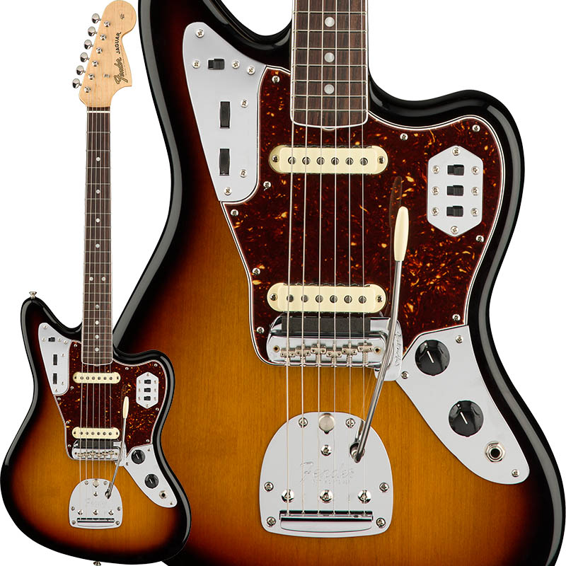 上品なスタイル Fender Jaguar American Original [Made '60s Jaguar (3-Color Sunburst) Fender [Made In USA]【特価】, 伊佐郡:260eb89e --- informesynoticiascordoba.com