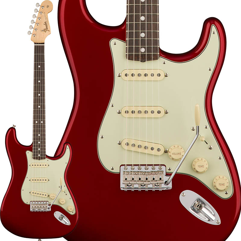 Fender American Original '60s Stratocaster (Candy Apple Red) [Made In USA] 【ikbp5】