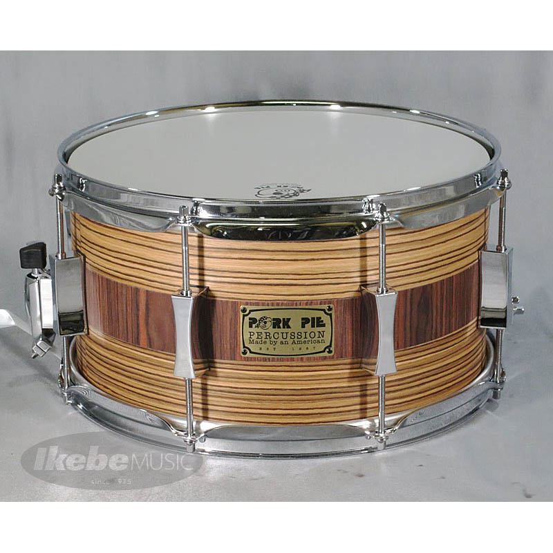 "PORK PIE ""USA Custom"" Maple 8Ply 13""×7"" [Zebrawood Rosewood]"