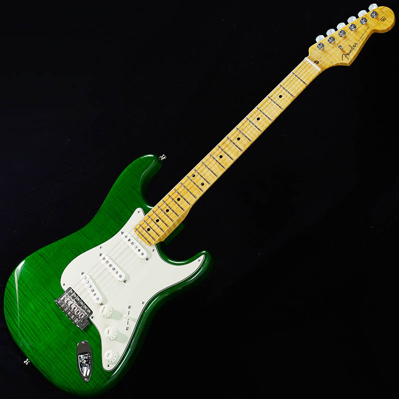Fender Custom Shop American Custom Stratocaster Flame Top/Ash Back (Emerald Green Trans/Maple) [IKEBE ORDER MODEL] 【ikbp5】
