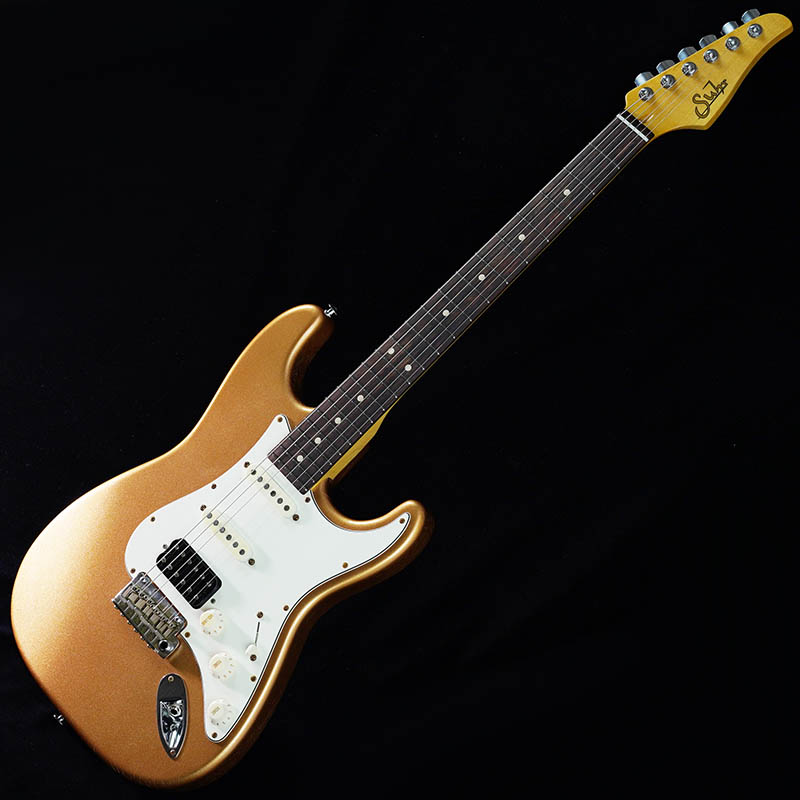 Suhr Guitars Limited Edition Pro Series Classic Antique SSH (Fire Mist Gold/Rosewood) [#JS5M0R]