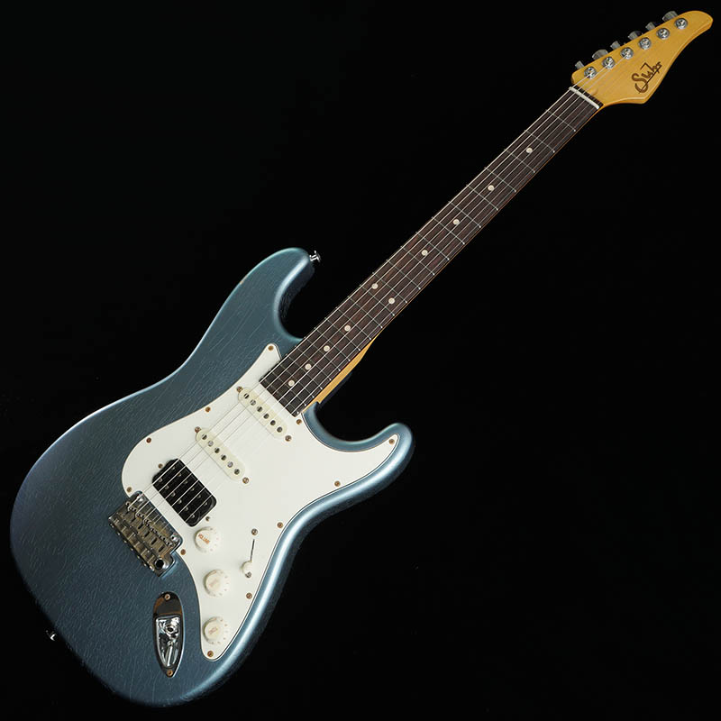 Suhr Guitars Limited Edition Pro Series Classic Antique SSH (Ice Blue/Rosewood) [#JS7P1X]