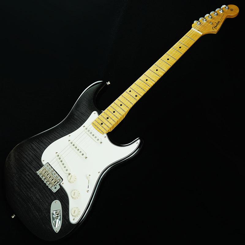 Fender Custom Shop American Custom Stratocaster Flame Top/Alder Back (Ebony Trans/Maple) [IKEBE ORDER MODEL] 【ikbp5】