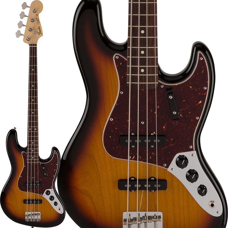 Fender 2018 Limited Collection 60s Jazz Bass (3-Color Sunburst) [Made in Japan] 【ikbp5】
