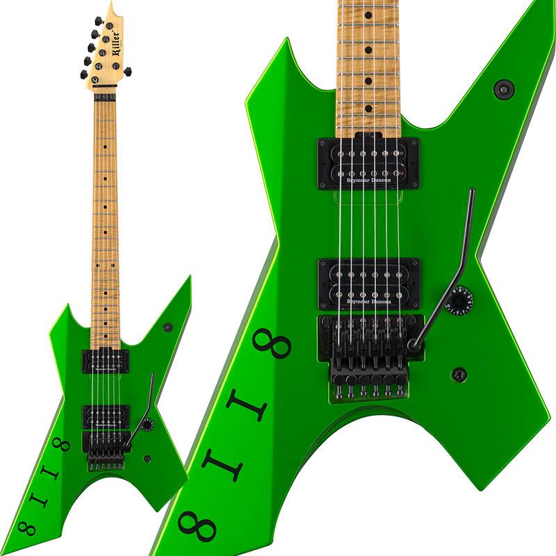 Killer KG-Prime Signature 8118 (Viper Green) [Akira Takasaki Model] 【受注生産品】