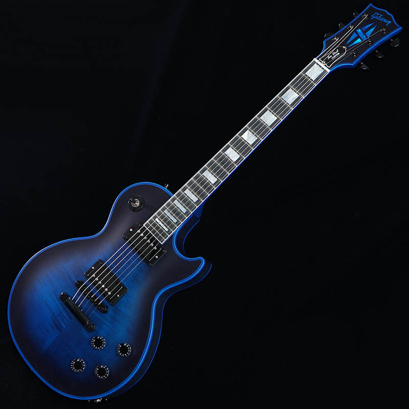 Gibson CUSTOM SHOP Les Paul Custom Satin Blue Widow [CS702433] 【ikbp5】