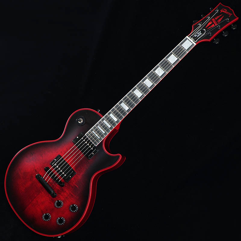 Gibson CUSTOM SHOP Les Paul Custom Satin Red Widow [CS702394] 【特価】 【プライスダウン!】