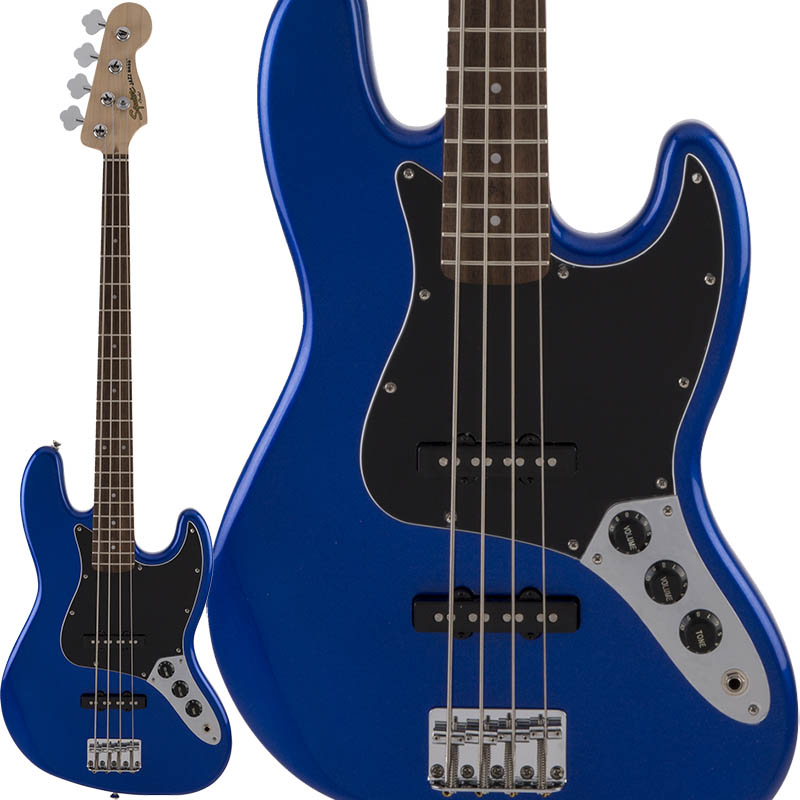 Squier by Fender Affinity Series Jazz Bass (Imperial Blue/Laurel Fingerboard) [限定カラー]