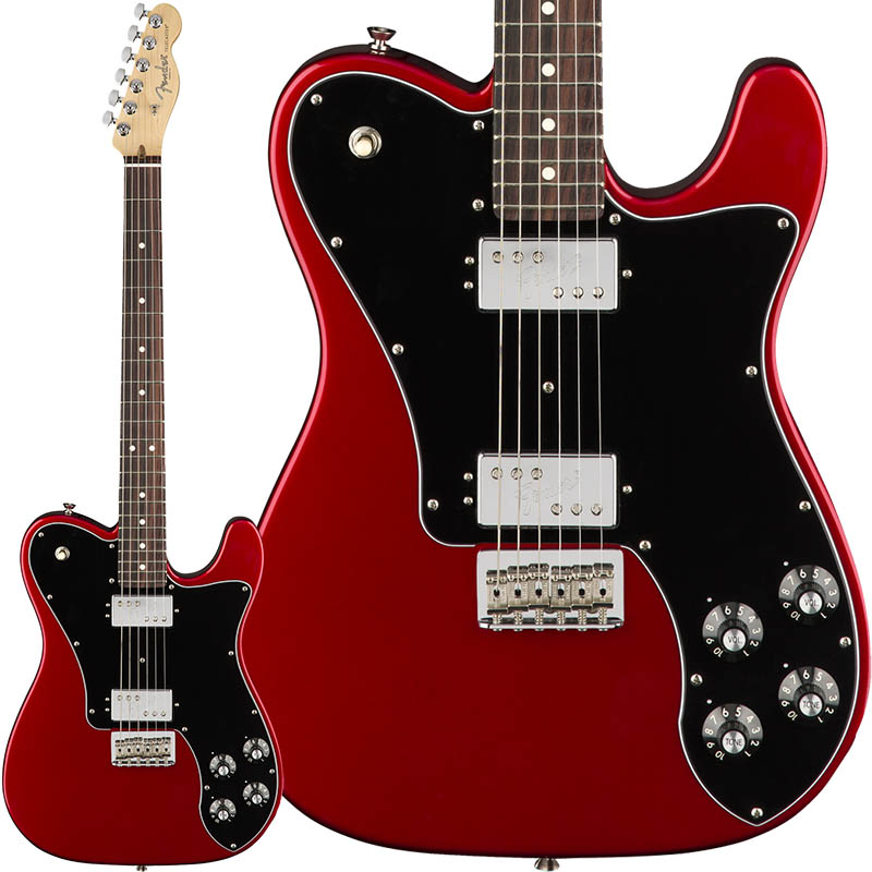 Fender American Professional Telecaster Deluxe ShawBucker (Candy Apple Red/Rosewood) [Made In USA] 【ikbp5】