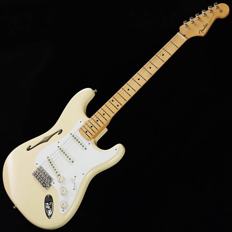 Fender Eric Johnson Thinline Stratocaster (Vintage White) [Made In USA] 【ikbp5】