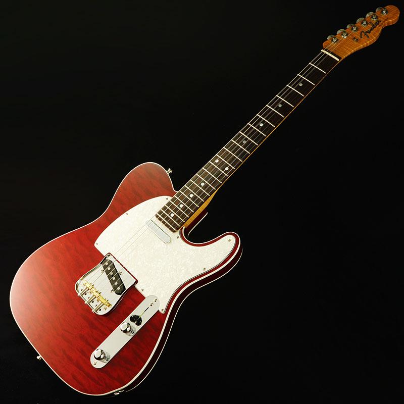Fender Custom Shop American Custom Telecaster Quilted Maple-Top (Bing Cherry Transparent/Rosewood) [IKEBE ORDER MODEL] 【ikbp5】