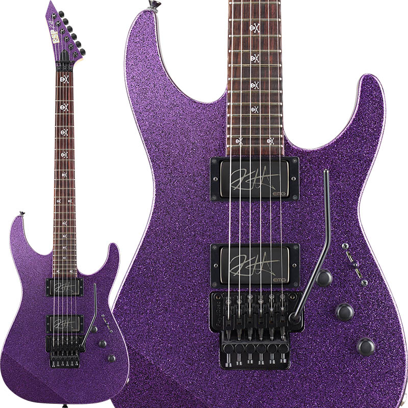 ESP Signature Series KIRK HAMMETT Model KH-2 Purple Sparkle 【受注生産品】