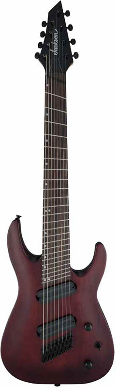Jackson X Series Dinky Archtop DKAF8 MS (Stained Mahogany)
