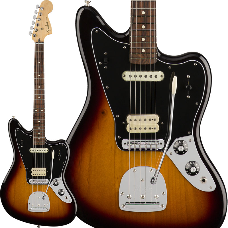 Fender Player Jaguar (3 Color Sunburst) [Made In Mexico] 【ikbp5】