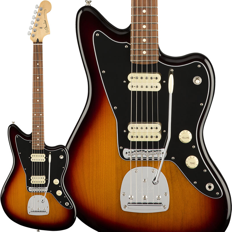 Fender Player Jazzmaster (3-Color Sunburst) [Made In Mexico] 【ikbp5】 【FENDER THE AUTUMN-WINTER 2018 CAMPAIGN】