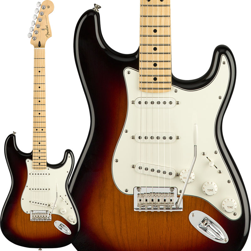 Fender Player Stratocaster (3-Color Sunburst/Maple) [Made In Mexico] 【ikbp5】