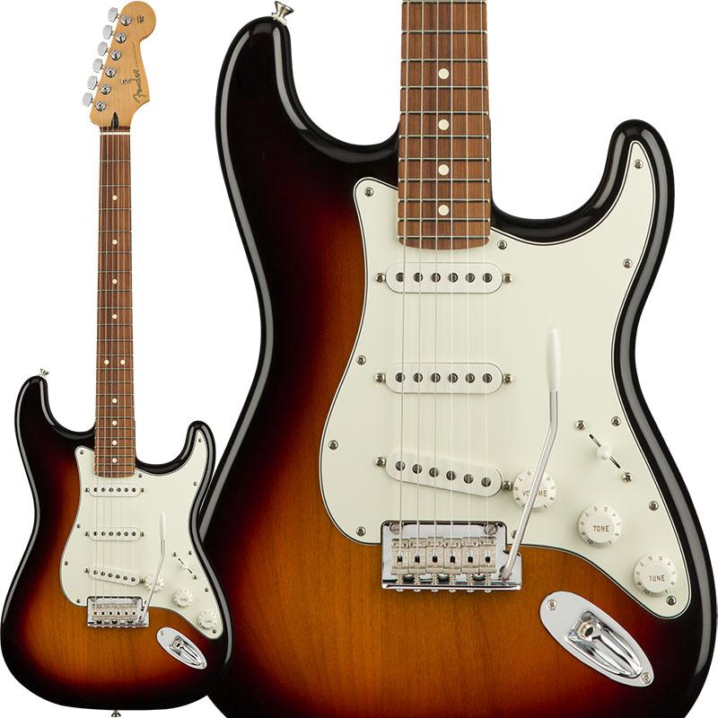 Fender Player Stratocaster (3-Color Sunburst/Pau Ferro) [Made In Mexico] 【ikbp5】 【FENDER THE AUTUMN-WINTER 2018 CAMPAIGN】