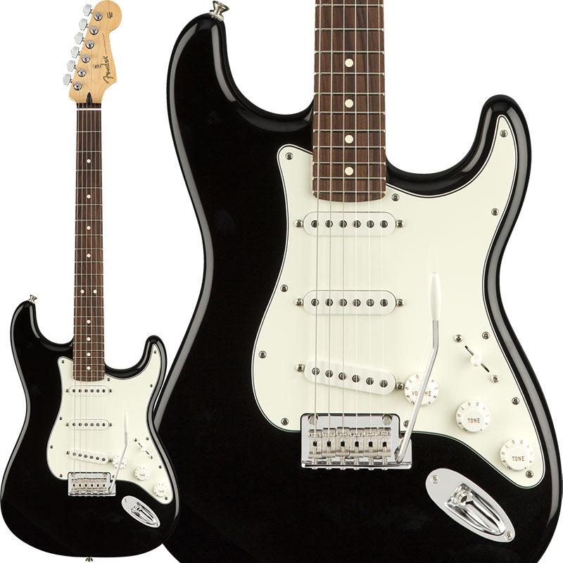 Fender Player Stratocaster (Black/Pau Ferro) [Made In Mexico] 【ikbp5】 【FENDER THE AUTUMN-WINTER 2018 CAMPAIGN】