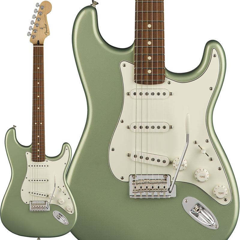 Fender Player Stratocaster (Sage Green Metallic/Pau Ferro) [Made In Mexico] 【ikbp5】 【FENDER THE AUTUMN-WINTER 2018 CAMPAIGN】