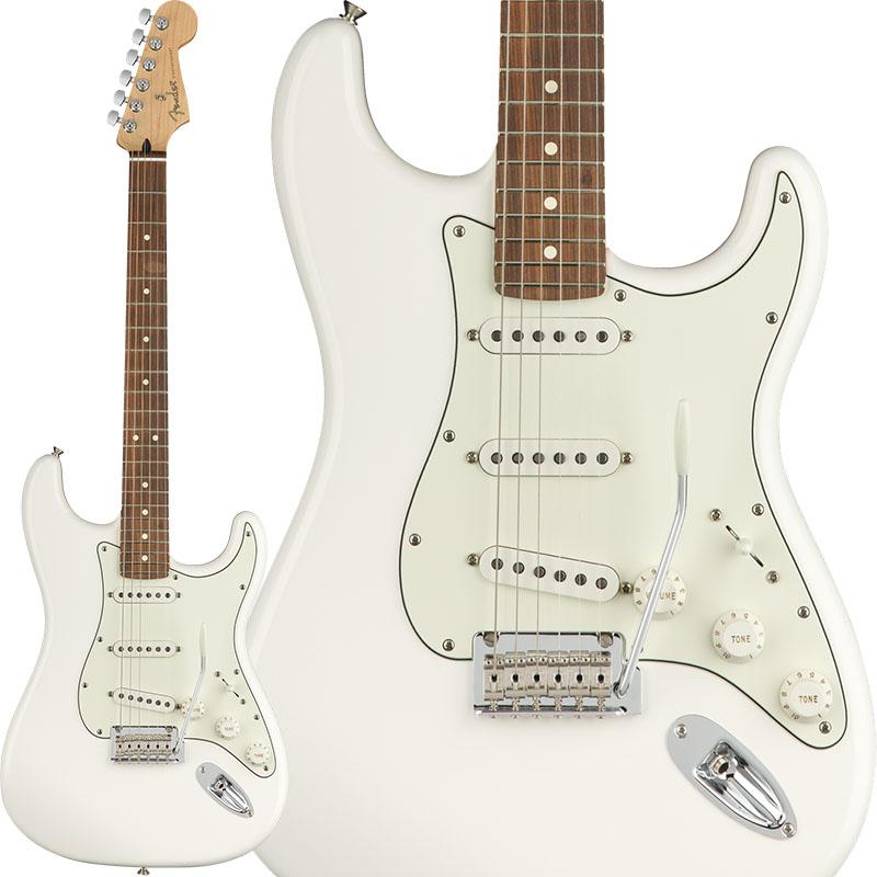 Fender Player Stratocaster (Polar White/Pau Ferro) [Made In Mexico] 【ikbp5】 【FENDER THE AUTUMN-WINTER 2018 CAMPAIGN】