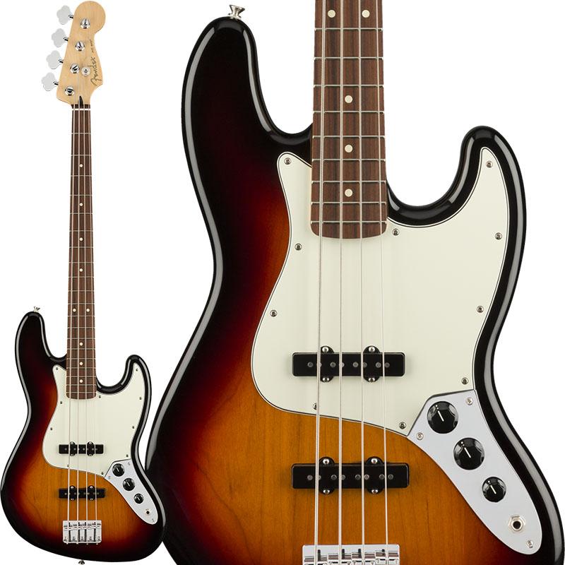 Fender Player Jazz Bass (3-Color Sunburst/Pau Ferro) [Made In Mexico] 【ikbp5】