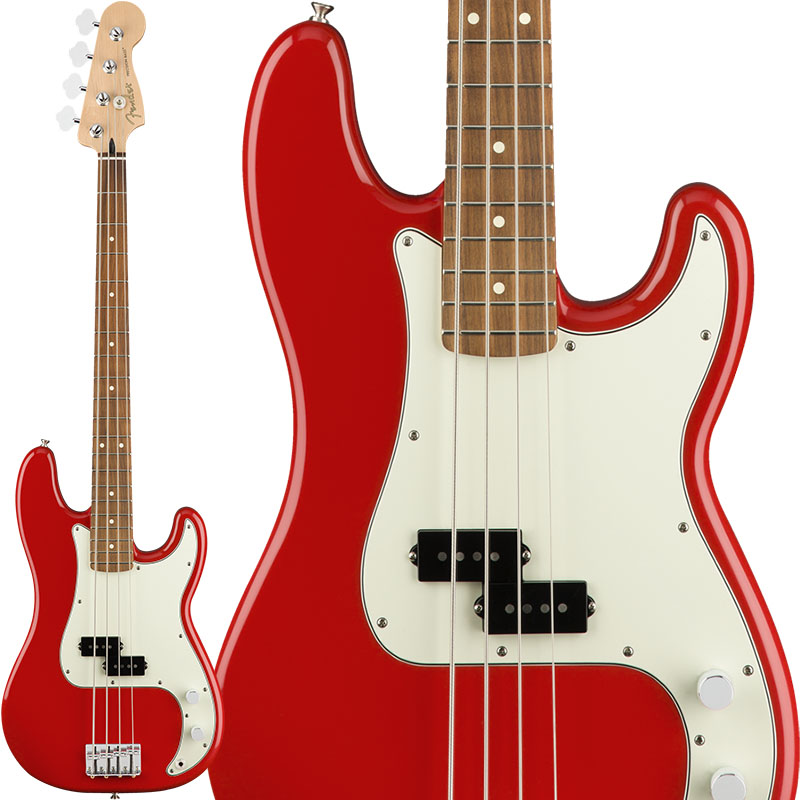 Fender Player Precision Bass (Sonic Red/Pau Ferro) [Made In Mexico] 【7月中旬以降順次入荷】 【ikbp5】