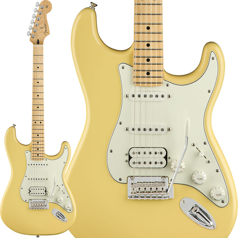 Fender Player Stratocaster HSS (Buttercream/Maple) [Made In Mexico] 【ikbp5】 【FENDER THE AUTUMN-WINTER 2018 CAMPAIGN】