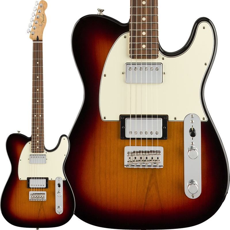 Fender Player Telecaster HH (3-Color Sunburst/Pau Ferro) [Made In Mexico] 【ikbp5】