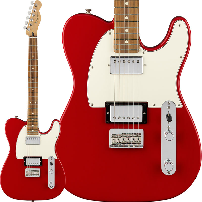 Fender Player Telecaster HH (Sonic Red/Pau Ferro) [Made In Mexico] 【ikbp5】 【FENDER THE AUTUMN-WINTER 2018 CAMPAIGN】