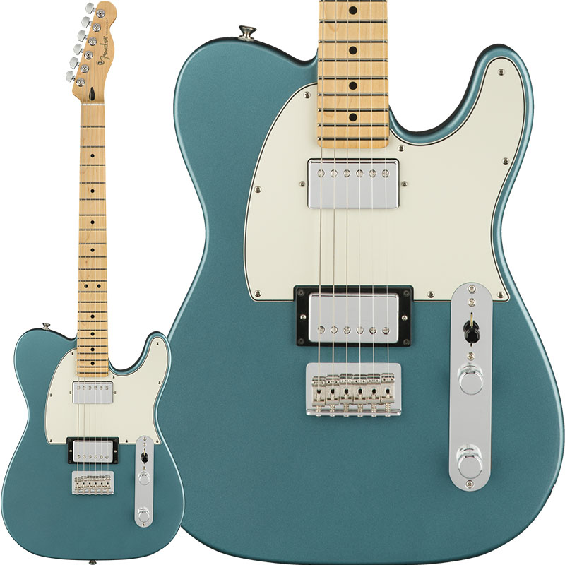 【エレキギター】 Fender Player Telecaster HH (Tidepool/Maple) [Made In Mexico] 【ikbp5】