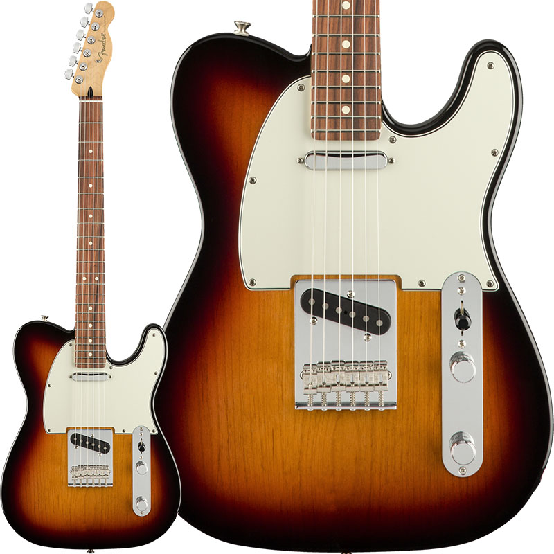 Fender Player Telecaster (3-Color Sunburst/Pau Ferro) [Made In Mexico] 【ikbp5】 【FENDER THE AUTUMN-WINTER 2018 CAMPAIGN】