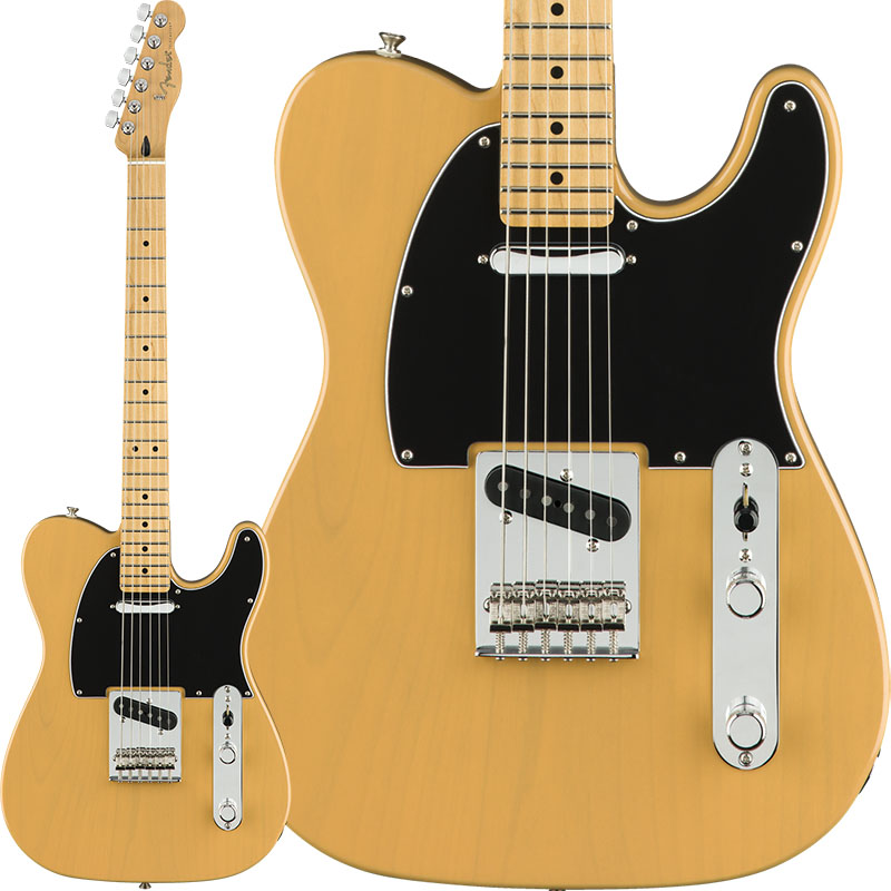 Fender Player Telecaster (Butterscotch Blonde/Maple) [Made In Mexico] 【ikbp5】 【FENDER THE AUTUMN-WINTER 2018 CAMPAIGN】