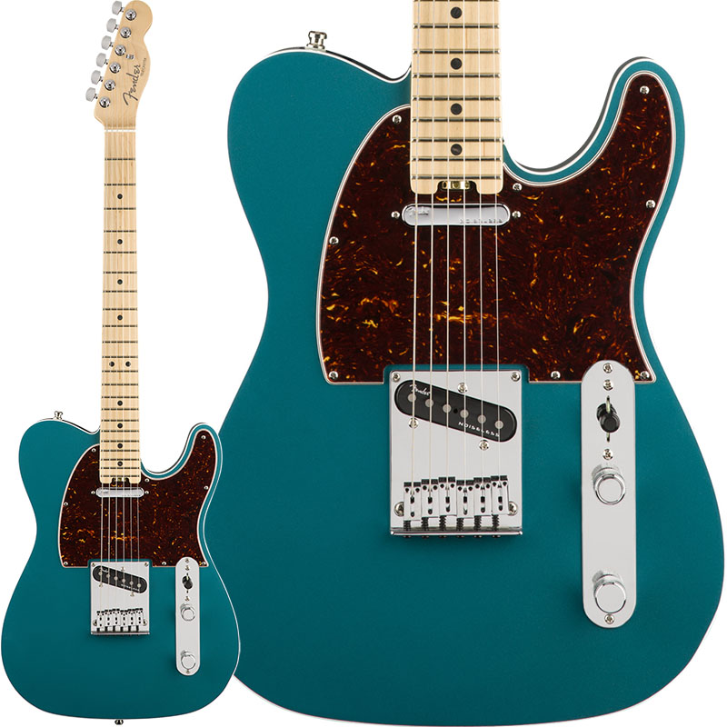 Fender American Elite Telecaster (Ocean Turquoise/Maple) [Made In USA] 【ikbp5】