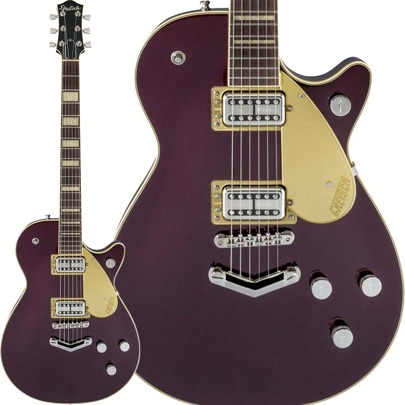 【エレキギター】 GRETSCH G6228 Players Edition Jet BT with V-Stoptail (Dark Cherry Metallic) 【特価】 【限定タイムセール】