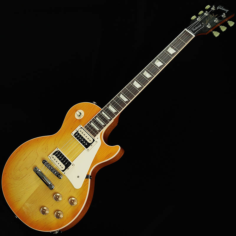 Gibson Les Paul Traditional Plain Top 2016 Zebra Plus Limited (Lemon Burst) 【本数限定アウトレット超特価】