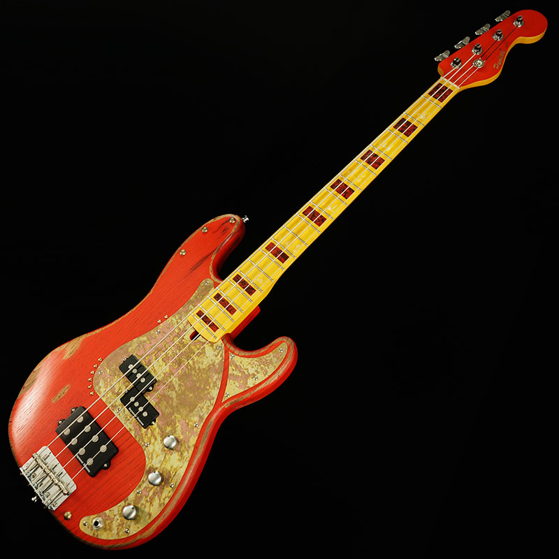 Paoletti Guitars Sky Bass Loft 4st (RED)