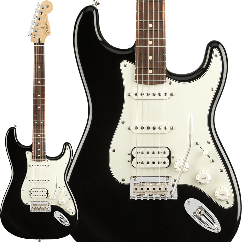 【ご予約品】 Fender Player Stratocaster HSS (Black [Made/Pau Ferro) (Black/Pau HSS [Made In Mexico]【ikbp5】, 工事資材通販 ガテンショップ:d180018b --- hortafacil.dominiotemporario.com