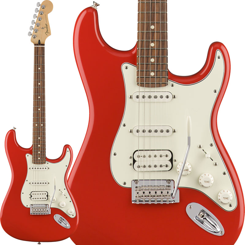 Fender Player Stratocaster HSS (Sonic Red/Pau Ferro) [Made In Mexico] 【ikbp5】