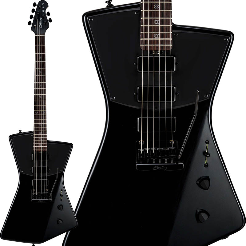 Sterling by MUSICMAN STV60 (Stealth Black) [St. Vincent Signature Models]
