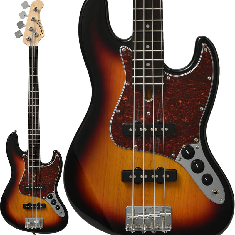 Compact Bass CJB-60s (3TS/R) [スモールサイズの本格派!大人気コンパクトベース]