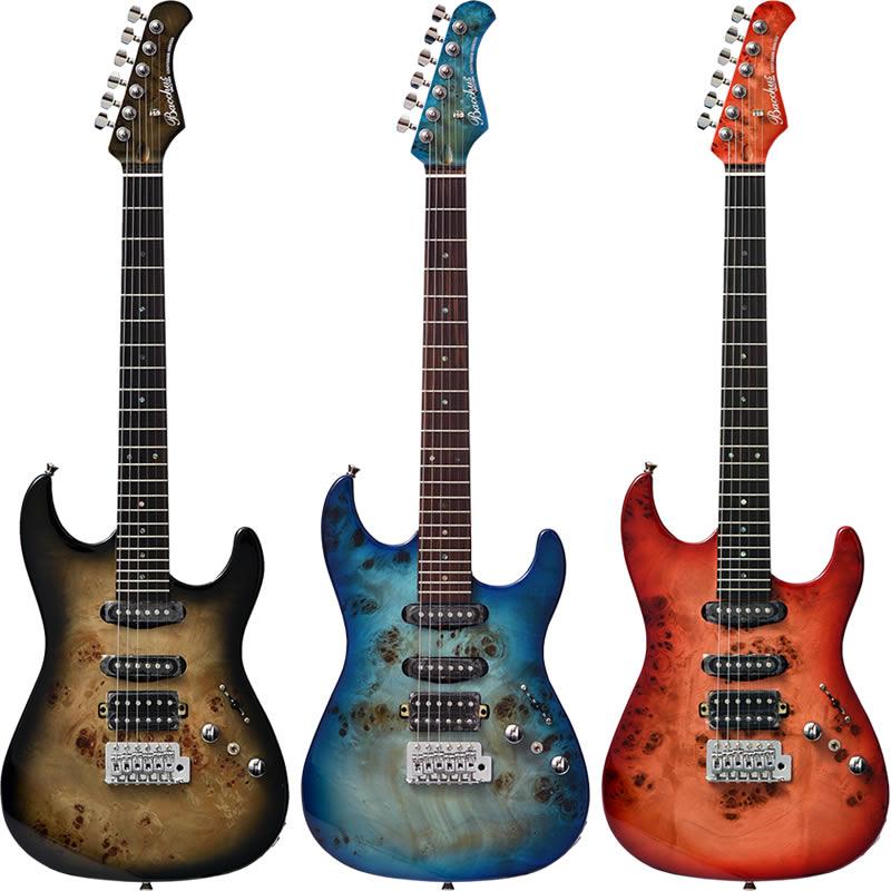 Bacchus UNIVERSE Series GS-mini BP/R [バールポプラTOP採用スモールサイズ・エレキギター] 【期間限定特別価格】