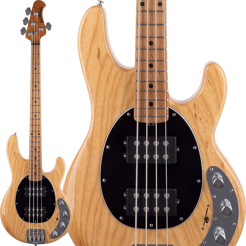 MUSICMAN StingRay Special HH (Classic Natural/Maple) 【お取り寄せ品】 【初回限定!ERNIE BALL純正シールドプレゼント】