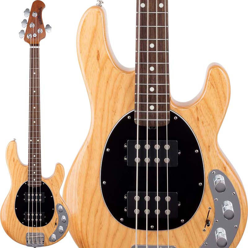 MUSICMAN StingRay Special HH (Classic Natural/Rosewood) 【お取り寄せ品】 【初回限定!ERNIE BALL純正シールドプレゼント】