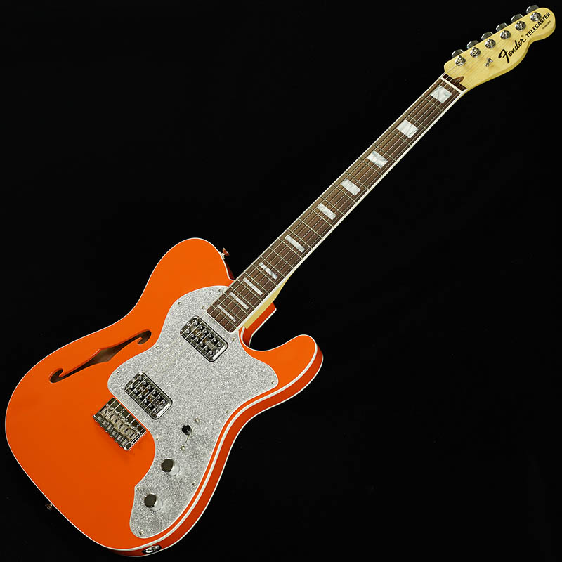 Fender Limited Edition Tele Thinline Super Deluxe (Orange/Rosewood) [Made In USA] 【ikbp5】
